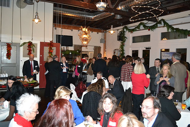 2013 Holiday Mixer: It was a great turnout for this annual event.